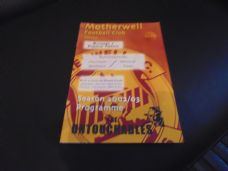Motherwell v Rangers / Partick Thistle, 2002/03